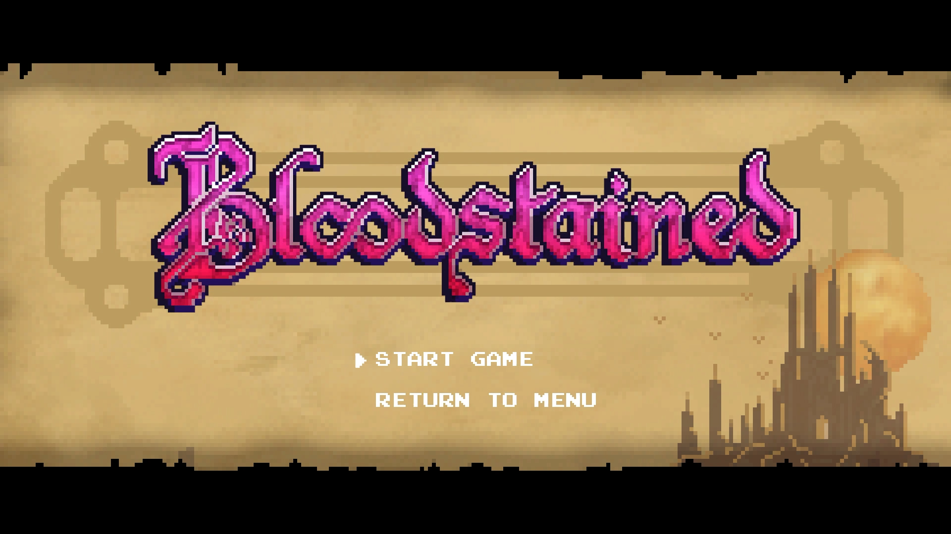 bloodstained retro mode