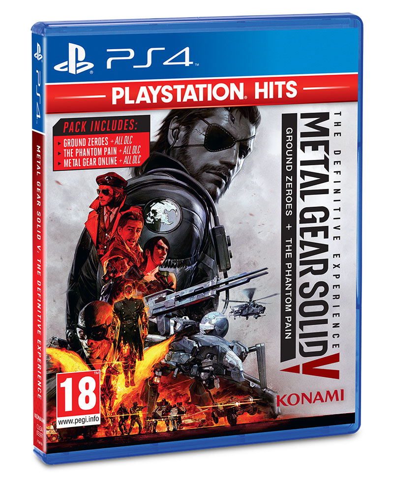 Metal Gear Solid V playstation hits