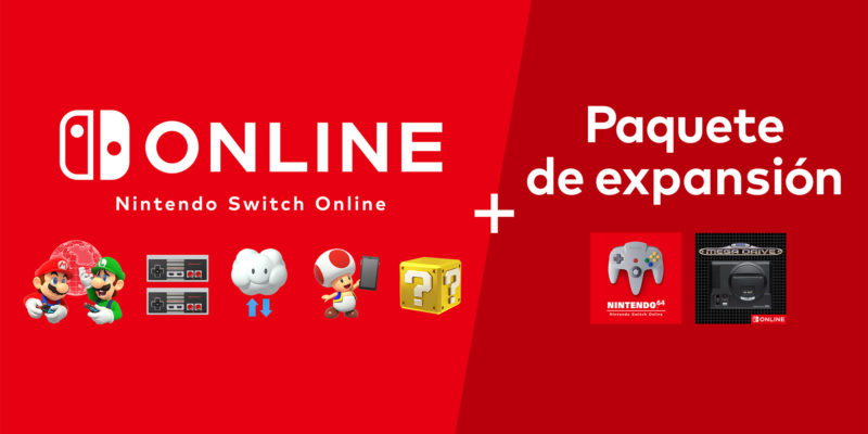 Nintendo Switch Online paquete expansion