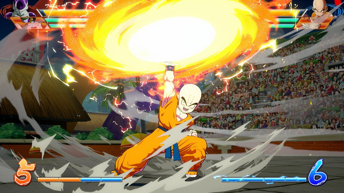krillin dbz fighterz